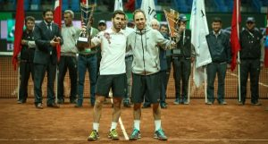 Flavio Cipolla and Dudi Sela (photo: Istanbul Open)
