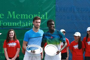 Quentin Halys and Frances Tiafoe (photo: Tallahassee Challenger)