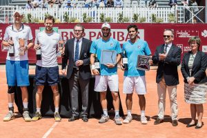 Doubles ceremony in Bordeaux (photo: BNP Parisbas Primrose)