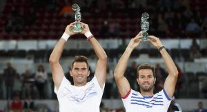 Doubles champions: Jean-Julien Rojer and Horia Tecau (photo: MMO)