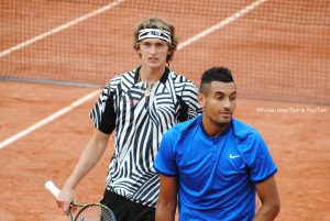 Alex Zverev and Nick Kyrgios