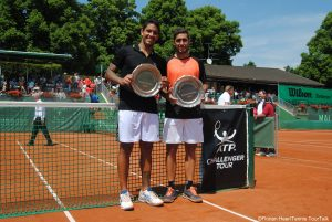Facundo Arguello and Roberto Maytin captured their first team title
