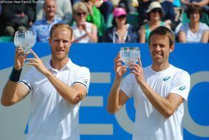 Dominic Inglot and Daniel Nestor clinched their first team title