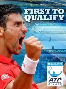 First to qualify for London: Novak Djokovic