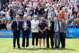 Four time champions at the Queen's Club (photo: British Tennis)