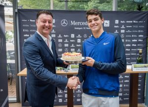 Edwin Weindorfer and Taylor Fritz