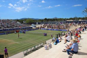 Santa Ponsa Tennis Club during Sunday's final (photo: WTA Mallorca Open)