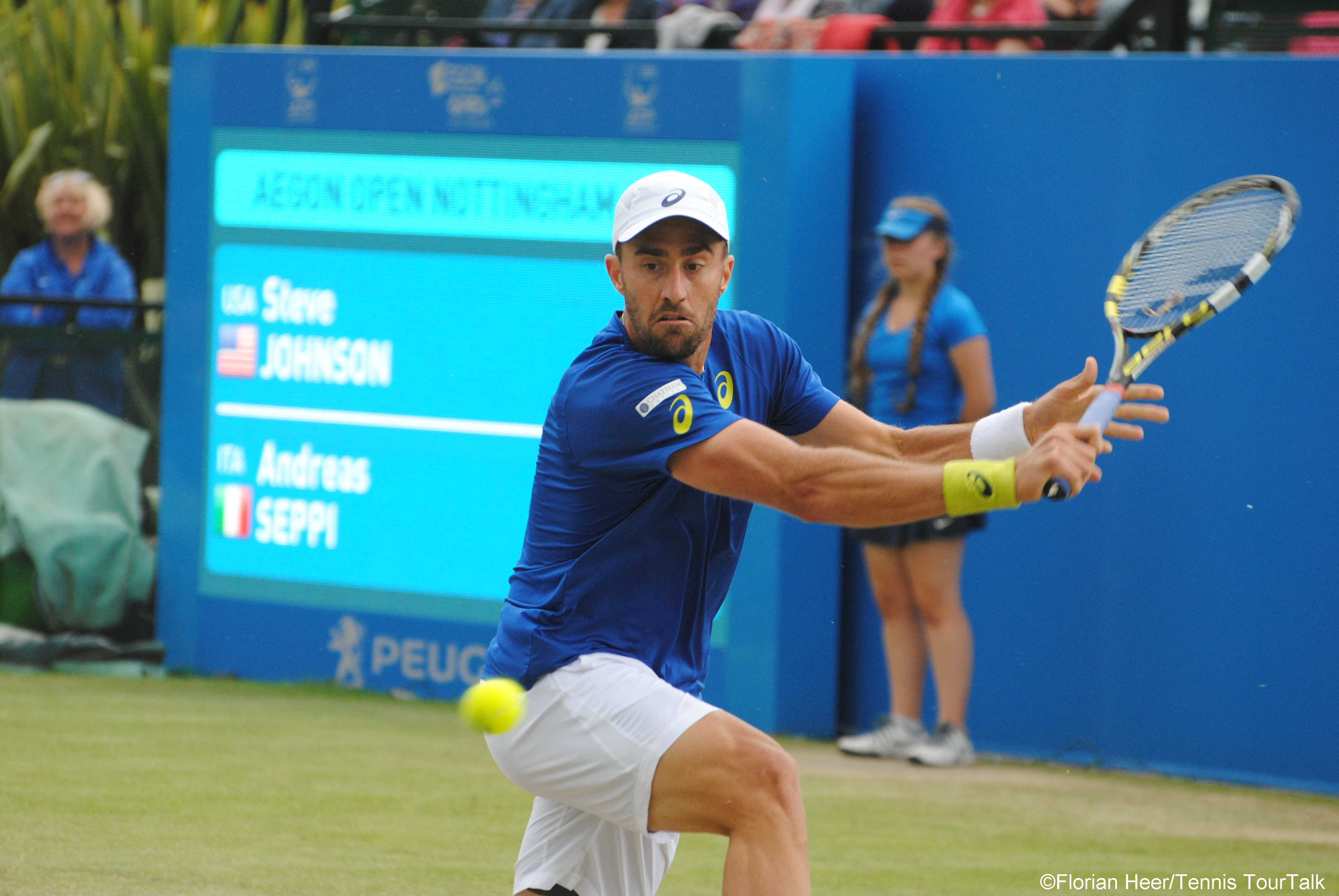 Steve Johnson Tennis TourTalk