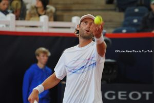 Stephane Robert advance d to his first semi-final on ATP 500-level