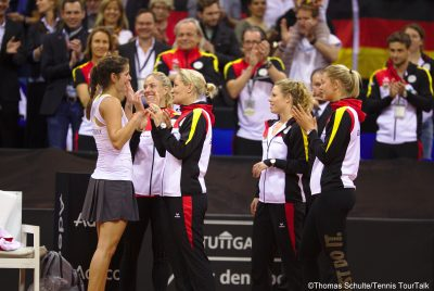 Görges' Win Seals Germany's Presence In Fed Cup World Group