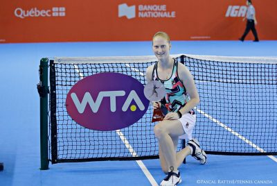 Van Uytvanck Wins Maiden WTA Title In Québec City