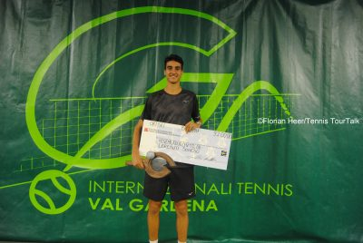 Sonego Lifts First ATP Challenger Trophy At Val Gardena