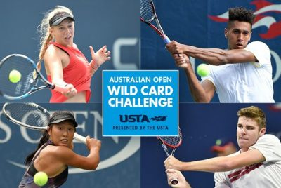 USTA Australian Open Wild Card Challenge Kicks Off October 23
