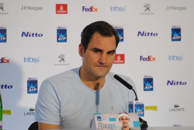 Federer Falls In London Semi-Finals