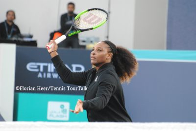 Serena Williams To Return To Abu Dhabi