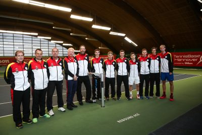 Becker Accompanies German Tennis Talents In Hannover