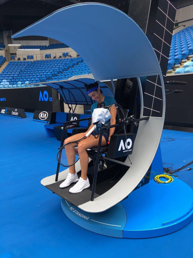 Australian Open Officials Hit New Heights In Hi-Tech Umpire Chairs - Tennis TourTalk & Australian Open Officials Hit New Heights In Hi-Tech Umpire Chairs ...