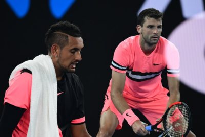Dimitrov Fights Past Kyrgios To Reach Australian Open Quarterfinals