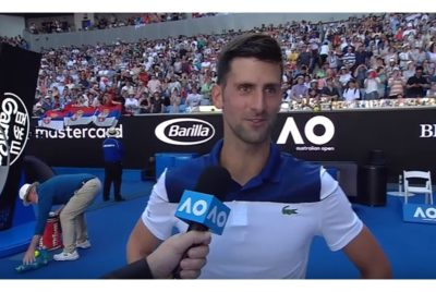 Djokovic Advances To Australian Open Third Round