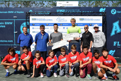 Martí Wins Sanchez-Casal Futures In Naples