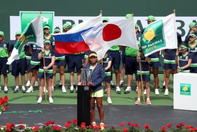 Osaka Showed Plenty Of Drive And Intelligence – And A Few Giggles, Too – In Winning Her First WTA Title