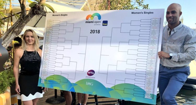 Miami Open WTA draw