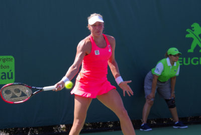 Wickmayer Ends Her Season Early