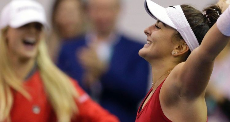 Andreescu Fed Cup Canada