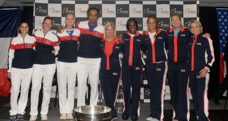 USA France Fed Cup