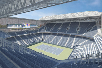 New Louis Armstrong Stadium Set To Debut At This Year's U.S. Open