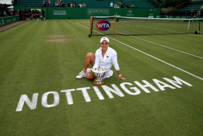 Barty Clinches Nottingham's Nature Valley Open Title