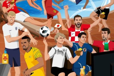 Social Media Is Abuzz As Tennis Stars Are Avidly Following World Cup 2018