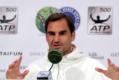 """World No. 1 Federer In Halle: """"I Like These Kind Of Challenges!"""""""