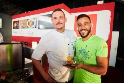 Damir Džumhur Cooks With Chefs Of Michelin-Recommended Restaurants