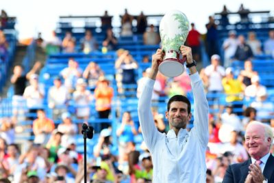 Djokovic Completes Career Golden Masters In Cincinnati
