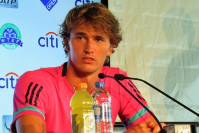A Few Minutes With Sascha: Zverev Commanded Our Attention On Court, Charmed Us With His Witticisms Off It