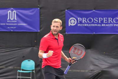 Evans Knocks Out Vancouver's Pospisil To Reach Odlum Brown VanOpen Final