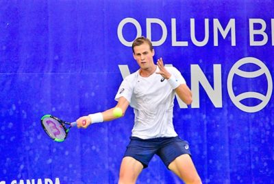 Pospisil Continues To Roll At Odlum Brown VanOpen