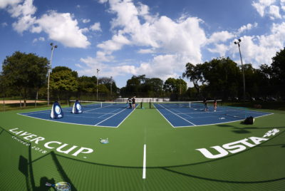 Laver Cup, USTA And The City Of Chicago Unveil Tennis Courts At Garfield Park