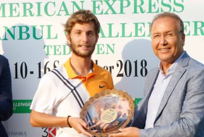 Moutet Victorious In All-French Final At Istanbul Challenger
