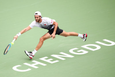 Sousa, Tomic Battle Into Second Round At Chengdu Open
