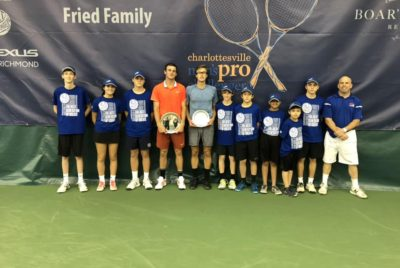 Paul Powers Past Polansky To Lift Charlottesville Challenger Title