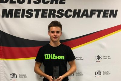 Niklas Guttau Crowned Germany's Under 18 National Tennis Champion