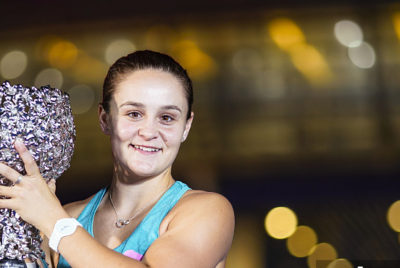 Seizing The Moment, Barty Wins Biggest Title Of Her Career