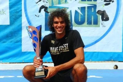 Mansouri Clinches First Professional Singles Title In Yaoundé