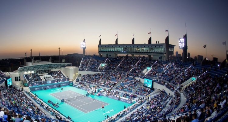 Mubadala World Tennis Championship in Abu Dhabi