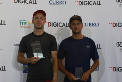 Toby Martin Wins Digicall Futures