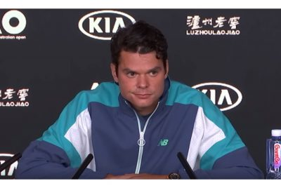 Raonic Continues Good Run Of Form In Melbourne