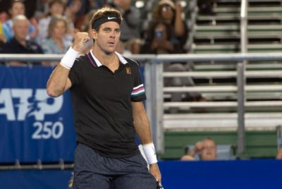 Triumphant Return For Del Potro At Delray Beach Open