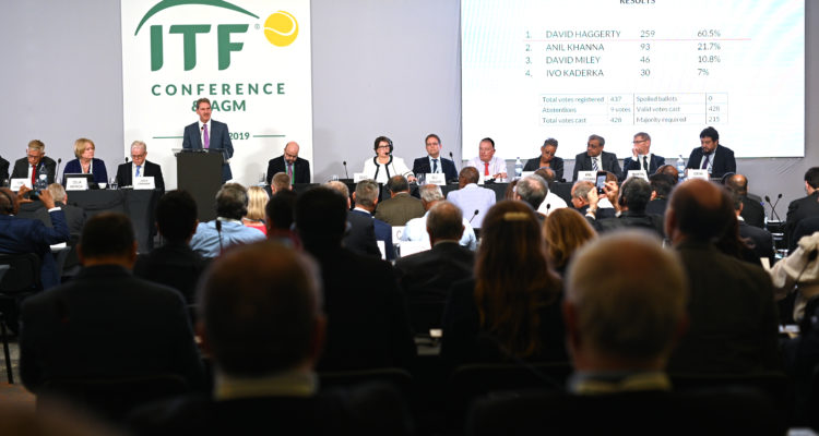 ITF's annual general meeting in Lisbon